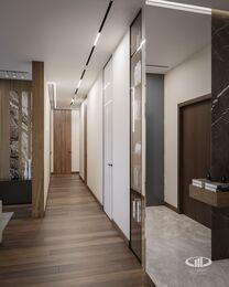 Дизайн интерьера квартиры в ЖК Город на Реке Тушино-2018 | Фото №6 | Прихожая