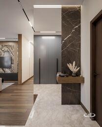 Дизайн интерьера квартиры в ЖК Город на Реке Тушино-2018 | Фото №7 | Прихожая