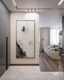 Дизайн интерьера квартиры в ЖК Город на Реке Тушино-2018 | Фото №8 | Прихожая
