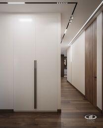 Дизайн интерьера квартиры в ЖК Город на Реке Тушино-2018 | Фото №9 | Прихожая