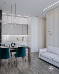 Дизайн интерьера квартиры в ЖК Новочеремушкинская 17 | Фото №1