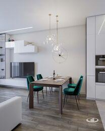 Дизайн интерьера квартиры в ЖК Новочеремушкинская 17 | Фото №3
