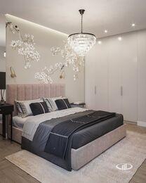Современный интерьер квартиры в ЖК Достояние фото №8 | Спальня
