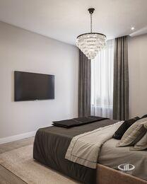 Современный интерьер квартиры в ЖК Достояние фото №9 | Спальня
