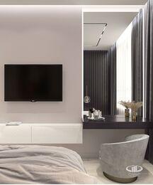 Дизайн интерьера квартиры в ЖК Сердце столицы | 3D-визуализация №5