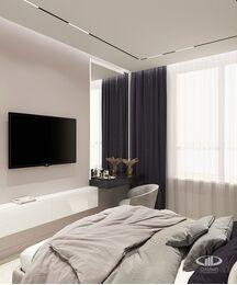 Дизайн интерьера квартиры в ЖК Сердце столицы | 3D-визуализация №7