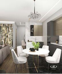 Дизайн 3-комнатной квартиры в ЖК Сити Парк | Дизайн-проект квартиры City Park | Фото №1