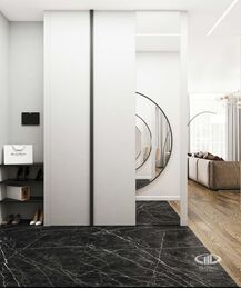 Дизайн 3-комнатной квартиры в ЖК Сити Парк | Дизайн-проект квартиры City Park | Фото №8