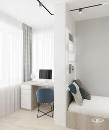Дизайн интерьера квартиры в ЖК Голландский дом в стиле минимализм | Фото №4