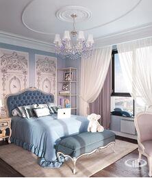 Дизайн интерьера квартиры в классическом стиле | Визуализация №10