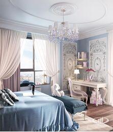 Дизайн интерьера квартиры в классическом стиле | Визуализация №9