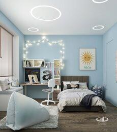 Дизайн 3-комнатной квартиры в ЖК Сити Парк | Дизайн-проект квартиры City Park | Фото №9