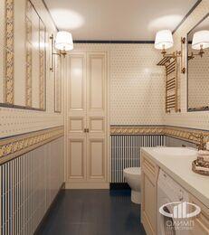 Дизайн интерьера квартиры в классическом стиле | Визуализация №19