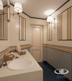 Дизайн интерьера квартиры в классическом стиле | Визуализация №21
