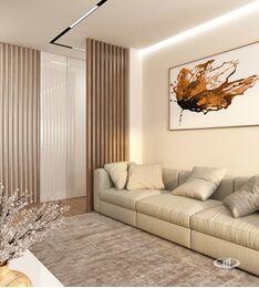 Дизайн интерьера квартиры в современном стиле ЖК Счастье в Тушино | 3d-визуализация №7