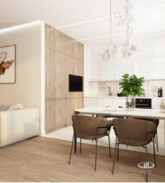 Дизайн интерьера квартиры в современном стиле ЖК Счастье в Тушино | 3d-визуализация №9