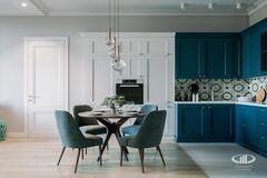 Интерьер квартиры в смешанном стиле | 3D-визуализация №4