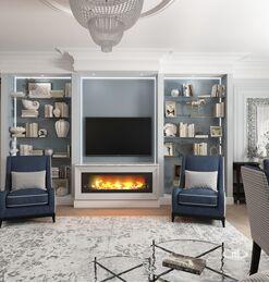 Дизайн интерьера квартиры в ЖК Дыхание | Фото №2