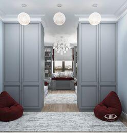 Дизайн интерьера квартиры в ЖК Дыхание | Фото №16