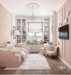 Дизайн интерьера квартиры в ЖК Дыхание | Фото №9