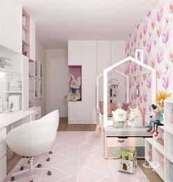 Дизайн интерьера квартиры в современном стиле ЖК Счастье в Тушино | 3d-визуализация №13