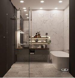 Визуализация интерьера квартиры в ЖК Balchug Viewpoint | Современный стиль | Фото №18