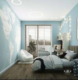 Дизайн 3-комнатной квартиры в ЖК Сити Парк | Дизайн-проект квартиры City Park | Фото №10
