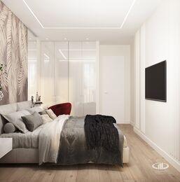 Дизайн интерьера квартиры в современном стиле ЖК Счастье в Тушино | 3d-визуализация №11