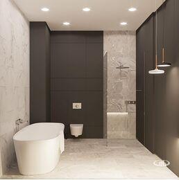Визуализация интерьера квартиры в ЖК Balchug Viewpoint | Современный стиль | Фото №19
