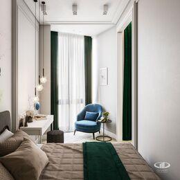Дизайн интерьера квартиры в ЖК Балчуг Вьюпоинт в стиле современная классика | Фото №6