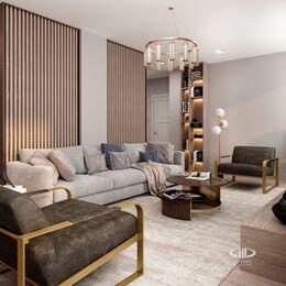 Дизайн интерьера квартиры на Охотном Ряду. Фото в современном стиле №6