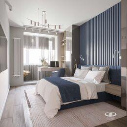 Дизайн интерьера большой квартиры в современном стиле | 3d-визуализация №12