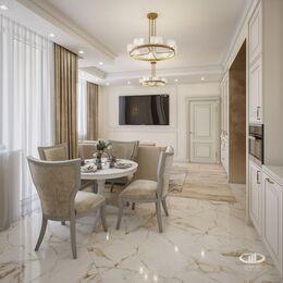Дизайн интерьера 3-комнатной квартиры в ЖК Искра Парк | Фото №5
