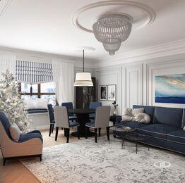 Дизайн интерьера квартиры в ЖК Дыхание | Фото №4