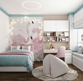 Дизайн 3-комнатной квартиры в ЖК Сити Парк | Дизайн-проект квартиры City Park | Фото №13