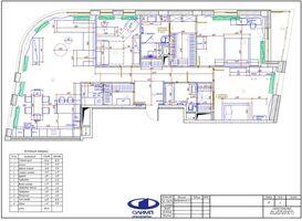 Планировка четырёхкомнатной квартиры в современном стиле