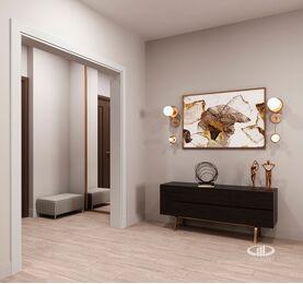 Дизайн интерьера квартиры на Охотном Ряду. Фото в современном стиле №7