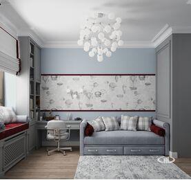 Дизайн интерьера квартиры в ЖК Дыхание | Фото №15