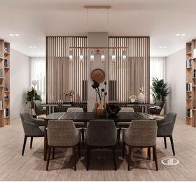 Дизайн интерьера квартиры на Охотном Ряду. Фото в современном стиле №3
