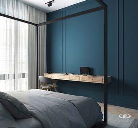 Дизайн интерьера четырехкомнатной квартиры в ЖК Balchug Viewpoint | 3d-визуализация №13