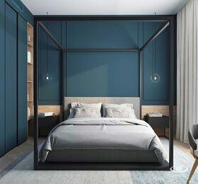 Дизайн интерьера четырехкомнатной квартиры в ЖК Balchug Viewpoint | 3d-визуализация №14
