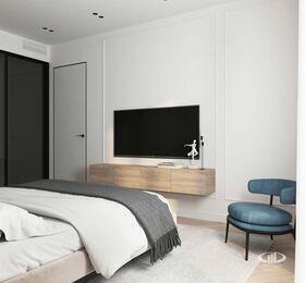 Дизайн интерьера четырехкомнатной квартиры в ЖК Balchug Viewpoint | 3d-визуализация №6