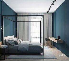 Дизайн интерьера четырехкомнатной квартиры в ЖК Balchug Viewpoint | 3d-визуализация №16
