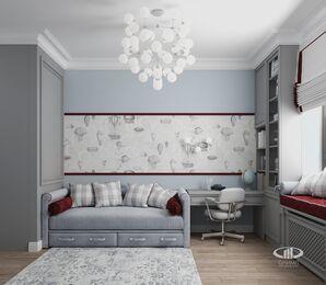Дизайн интерьера квартиры в ЖК Дыхание | Фото №13