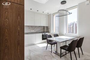 Кухня   Минимализм в интерьере квартиры реальное фото 4