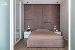 Спальня   Минимализм в интерьере квартиры реальное фото 1