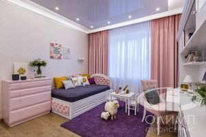 Детская трехкомнатной квартиры в современном стиле