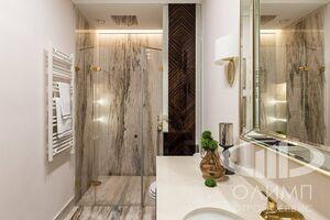 Ванная комната в стиле Ар-Деко