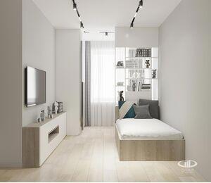 Дизайн интерьера квартиры в ЖК Голландский дом в стиле минимализм | Фото №3
