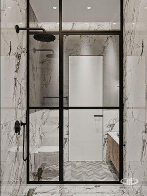 Дизайн интерьера 3-х комнатной квартиры в ЖК Balchug Viewpoint | Фото №3
